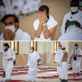 صور: اختيار ألف حاج من بين ملايين المسلمين لتأدية مناسك الحج في مكة  ..