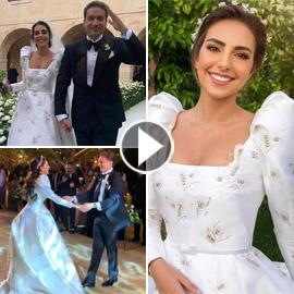 الأمن يوقف حفل زفاف ملكة جمال لبنان السابقة فاليري أبو شقرا (فيديو)