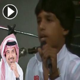 فيديو نادر: راشد الماجد يغني (حبيت اللي ما يستاهل) لـ نوال الكويتية  ..