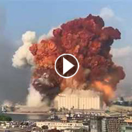 انفجار هائل يهز بيروت: 10 قتلى ومئات الجرحى ودمار هائل