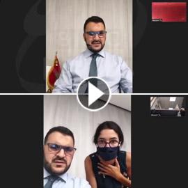 فيديو صادم: لحظة وقوع انفجار بيروت أثناء مقابلة وانهيار المذيعة!