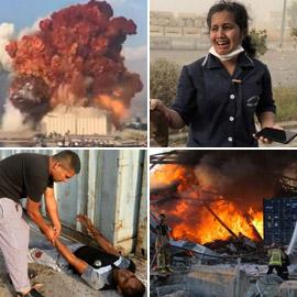 لبنان ينعي ضحايا الانفجار الذي أودى بحياة العشرات وأصاب الآلاف
