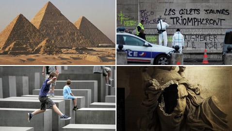 آثار وقطع وأماكن أثرية تئن وتعاني ويلات الصراعات وفضول السائحين!