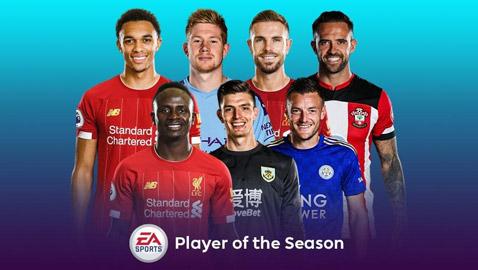 صلاح خارج قائمة المرشحين لأفضل لاعب في الدوري الإنكليزي!