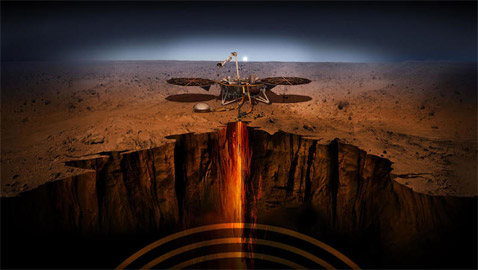 علماء: (حضارة ذكية) تعيش في أنفاق وكهوف داخل كوكب المريخ!