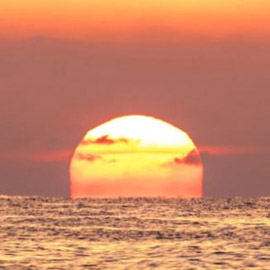 ما سر جمال الشمس عند الغروب و الشروق؟