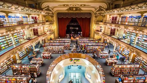 أغرب 6 مكتبات في العالم: مكتبة بمخزن قنابل صينى وأخرى بخزينة بنك!