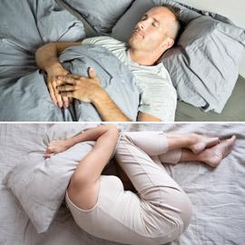 وضعية الجنين تعني افتقاد الأمان.. ماذا تقول وضعية نومك عن شخصيتك؟
