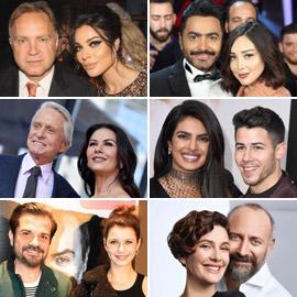 بالصور: نجوم ومشاهير تزوجوا بأشخاص أكبر منهم سنا بفارق كبير!
