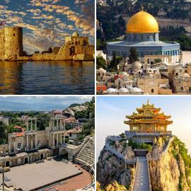 بالصور: تعرفوا إلى أقدم المدن المأهولة في العالم