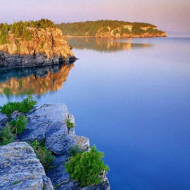 أكبر عشر بحيرات في العالم