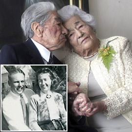 صمدوا لعقود.. تعرفوا إلى أقدم وأكبر زوجين معمرين في العالم