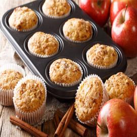 فطائر المافن بالتفاح.. وصفة لذيذة سريعة التحضير ومميزة لفصل الخريف