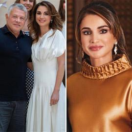 الملكة رانيا تحتفل بعيد ميلادها الخمسين بإطلالة مميزة بالأبيض.. صور
