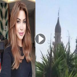 """شاهد .. مسجد بلبنان يبث أغنية ل """" نوال الزغبي """""""