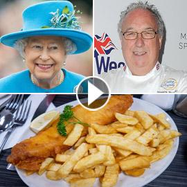 فيديو طباخ القصر يكشف سر طبق السمك والبطاطس الذي تعشقه الملكة إليزابيث