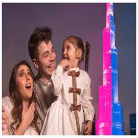 """بالفيديو: أنس واصالة دفعا 70 الف دولار للاعلان عن مولودهما على """"برج  .."""