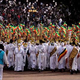 إثيوبيا ما زالت في العام 2013 وهكذا تحتفل