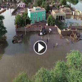 فيديو.. الدرون ترصد الدمار الهائل في شندي السودانية
