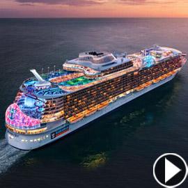 أعجوبة البحر جاهزة.. أكبر سفينة سياحية في العالم تستعد للإبحار