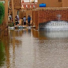 فيضانات السودان.. حصيلة جديدة لعدد القتلى والمنازل المدمرة