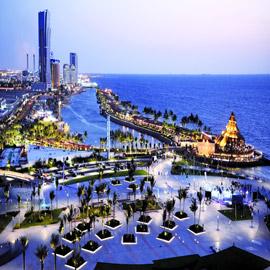 المدن السعودية التي تطل على البحر الأحمر