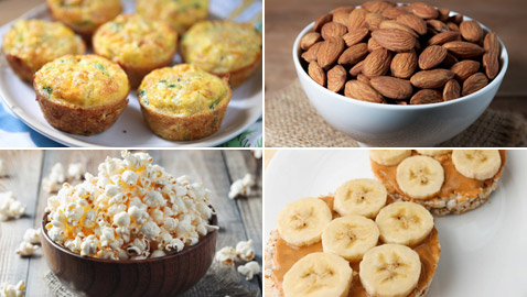 9 وجبات خفيفة صحية سهلة التحضير تعزز الطاقة وتحافظ عليها طوال اليوم