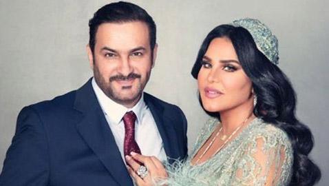 برسائل رومانسية متبادلة: أحلام تحتفل بعيد ميلاد زوجها مبارك الهاجري