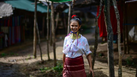 بالصور: ذوات الأعناق الطويلة يكافحن للعيش في ظل كورونا