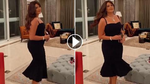 من جديد.. ياسمين عبد العزيز تشكك الجمهور بحملها بأحدث فيديو لها
