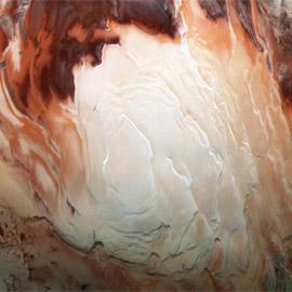 تأكيد اكتشاف بحيرة المياه الرابعة على كوكب المريخ.. صور
