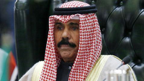 أمير الكويت الجديد يؤدي اليمين الدستورية أمام مجلس الأمة
