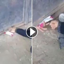 فيديو يمزق القلب.. مصري يحبس والدته العجوز مدة سنة بسبب معاشها!