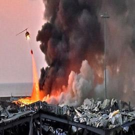انفجار بيروت واحد من الأعنف والأكبر بالتاريخ غير النووي