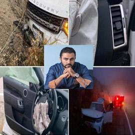 فنان مصري ينجو من حادث سير مروّع في أميركا