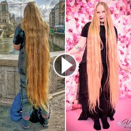 لم تقصّه منذ 15 عاما.. فتاة ألمانية تنتظر أن يصل شعرها لكاحليها!