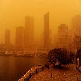 كوريا الشمالية تحذر من غبار أصفر كارثي قادم من الصين يحمل كورونا