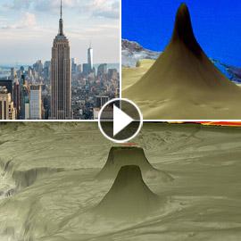 برج الشفرة: اكتشاف جبل مرجاني هائل في أعماق البحر ينافس برج خليفة
