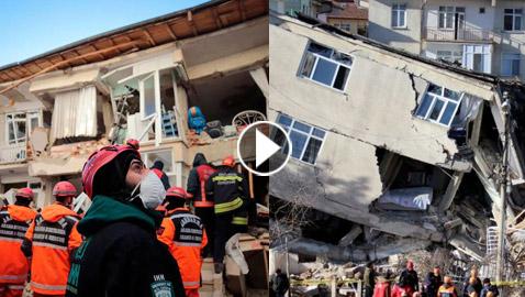 زلزال بقوة 7.0 درجات في بحر إيجة يهز تركيا واليونان