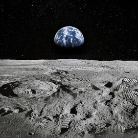 شركة بريطانية تحول غبار سطح القمر لأكسجين من أجل حياة خارج الأرض