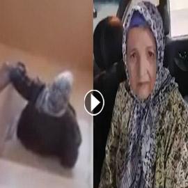 فيديو صادم يغضب المصريين.. يجبر والدته على الزحف