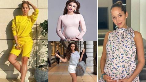 صور نجمات عربيات استعدن رشاقتهن بنجاح بعد الولادة خلال أقل من شهر