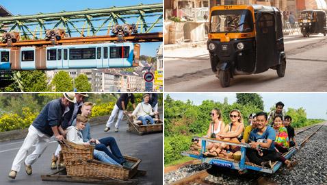 بالصور: تعرفوا إلى 8 من أغرب وسائل النقل المستخدمة حول العالم!
