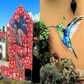 أروع رسومات الشوارع من حول العالم