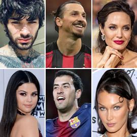 بالصور: مشاهير أجانب ورياضيون يمتلكون وشوما عربية على أجسامهم