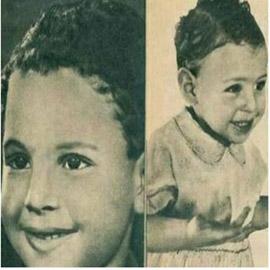هل تستطيعون معرفة هوية هذا الطفل الجميل ؟.. من أشهر نجوم الفن في  ..