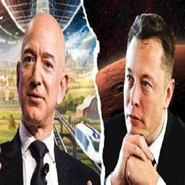 مؤسس أمازون ينتزع اللقمة من فم ماسك ويستعيد الأغنى بالعالم