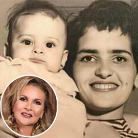 يسرا في صورة نادرة في أشهر عمرها الأولى مع والدتها.. هكذا بدت