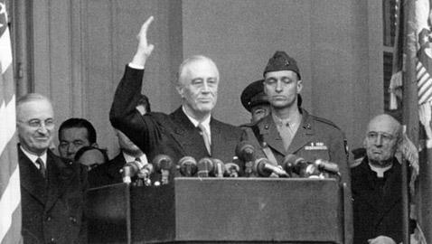 هكذا جرى حفل تنصيب رئيس أميركا بالحرب العالمية