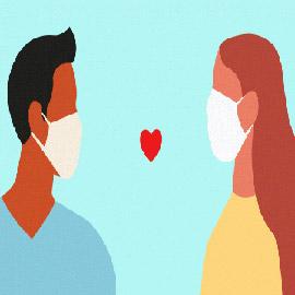 هل يكون الحب هو علاج فيروس كورونا؟